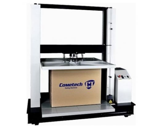 Packaging Test Instruments : Qc b carton compression tester cometech testing machines